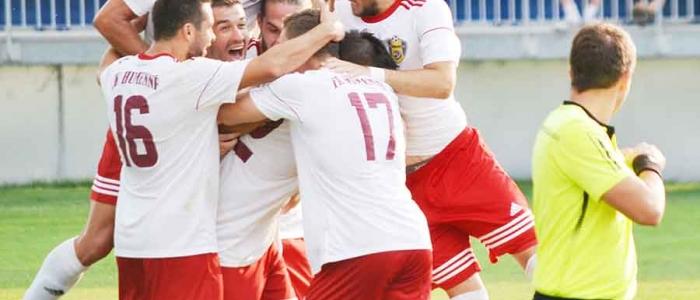 V tomto momente (3:1) si humenskí futbalisti už mohli byť istí, že zdolali lídra súťaže.