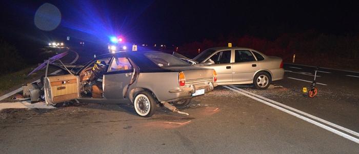68-ročný Jozef z Humenného, vodič Opel Vectra, šoféroval pod vplyvom alkoholu.