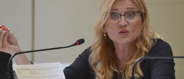 """""""Pán poslanec Meričko, ja som vždy slušná, kultúrna,"""" reagovala primátorka Jana Vaľová."""
