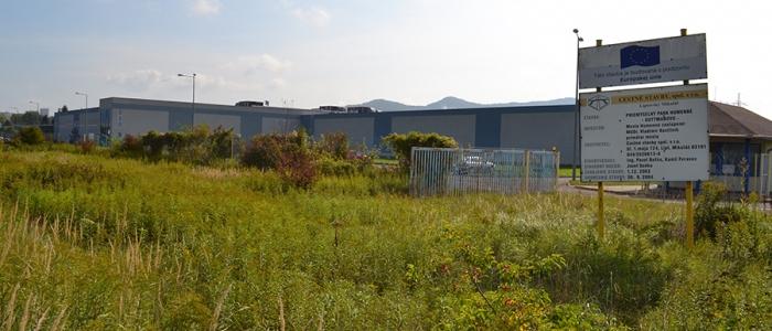 Mestský Priemyselný park Guttmanovo zostáva naďalej neobsadený. Firma NASA plast, s. r. o., napokon do Humenného nepríde.