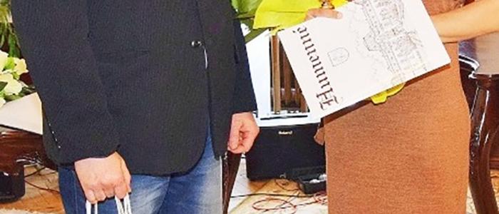 Športovci mesta Humenné za rok 2018 na pôde humenského zámku.