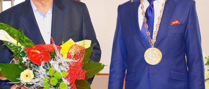 Ocenenie za Stanislava Rehúša, ktorý nás nečakane opustil v roku 2017, prevzal jeho klubový kolega Ján Grosiar.