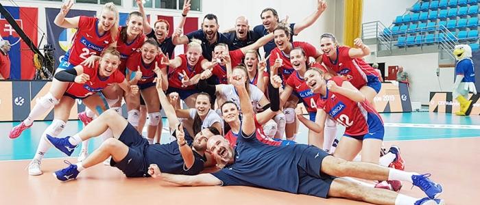 Česká republika – ženská reprezentácia v Humennom zdolala tú slovenskú.