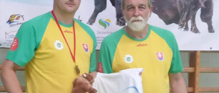 Šermiarska rodina – otec so synom, Dalibor a Martin Kazíkovi.