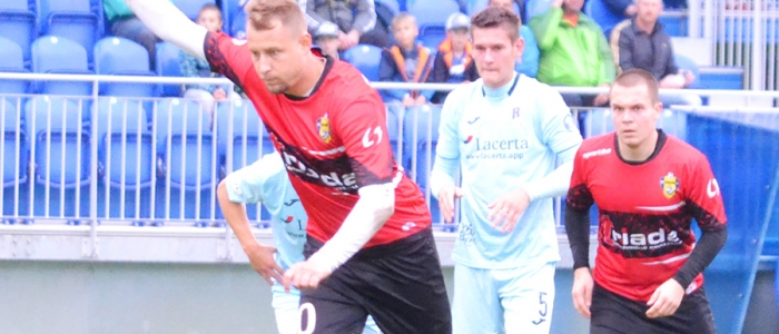 Za nepriaznivého stavu 0:3 v II. polčase zahrával penaltu Filip Serečin.