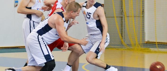 Brnčal, Boršč a Tkáč. Vyrovnanejšie bodové skóre v II. polčase nezaručilo humenským basketbalistom dosah na súpera z Košíc.