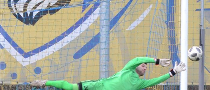 Zopár vydarených momentov mal aj golman Dávid Slávikv humenskej svätyni.