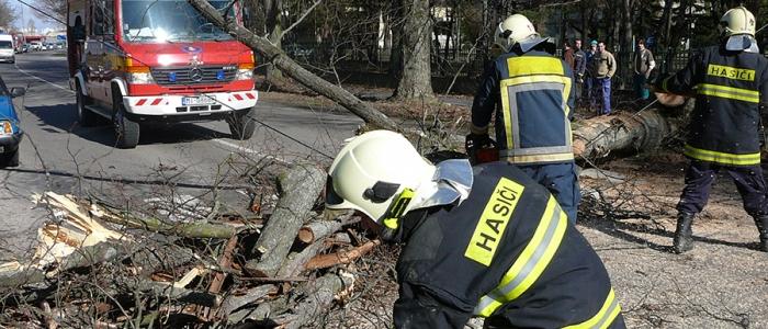 Celkovo v kraji zasahovalo 91 hasičov spolu s deviatimi členmi dobrovoľného zboru a nasadených bolo 27 kusov techniky.