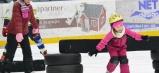 Zdolávanie rôznych prekážok na ľade dalo mnohým zabrať, no iní sa popasovali s fyzickou námahou statočne.