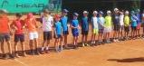 Nástup chlapcov na turnaji Glanz Cup 2019 v Humennom.