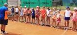 Aj dievčatá dostali pred súťažou inštruktáž od vrchného rozhodcu Milana Pavlovčíka z usporiadateľského klubu 1. TC Humenné.