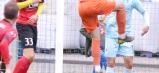Bravúrne výkony podával gólman hostí z Brestu, nedovolil domácim zasadiť remízu.