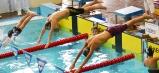 Po štarte krauliarskej disciplíny v humenskom bazéne.